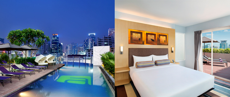 Aloft Hotel Bangkok_Splash Pool and Savvy Suite