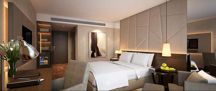 Bangkok Grand President hotel DELUXE PREMIUM ROOM