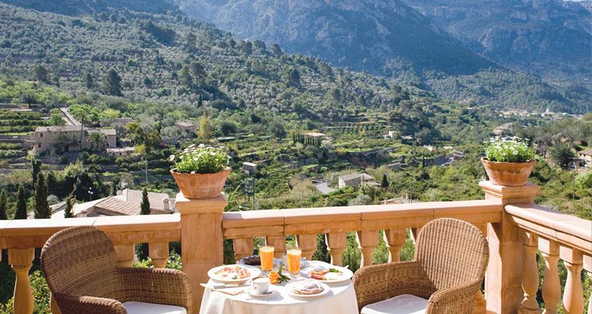 Sa Tanqueta hotel Fornalutx suite terraza