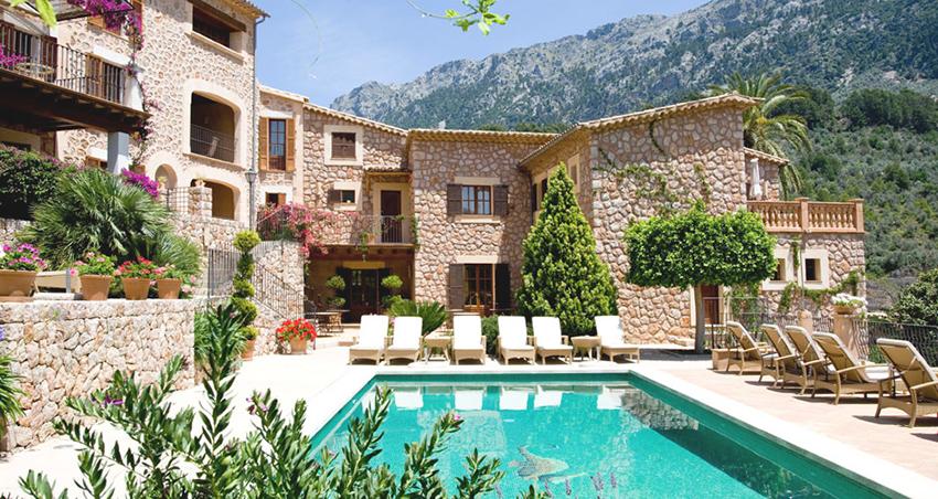 Sa Tanqueta hotel pool Fornalutx
