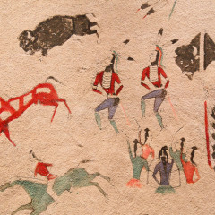 Art from Plaines Indian museum