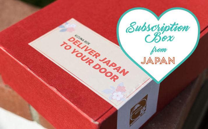 Monthly Subscription Box From Japan Kizuna Box Try