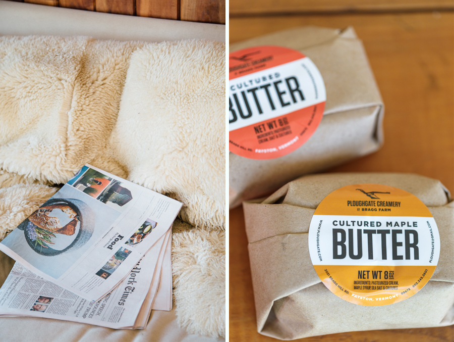 Vermont cultured butter