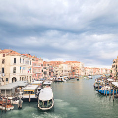 This morning made me glad I braved the crowds and came to Venice.