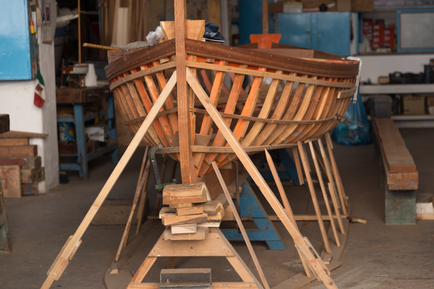 fishing boat construction