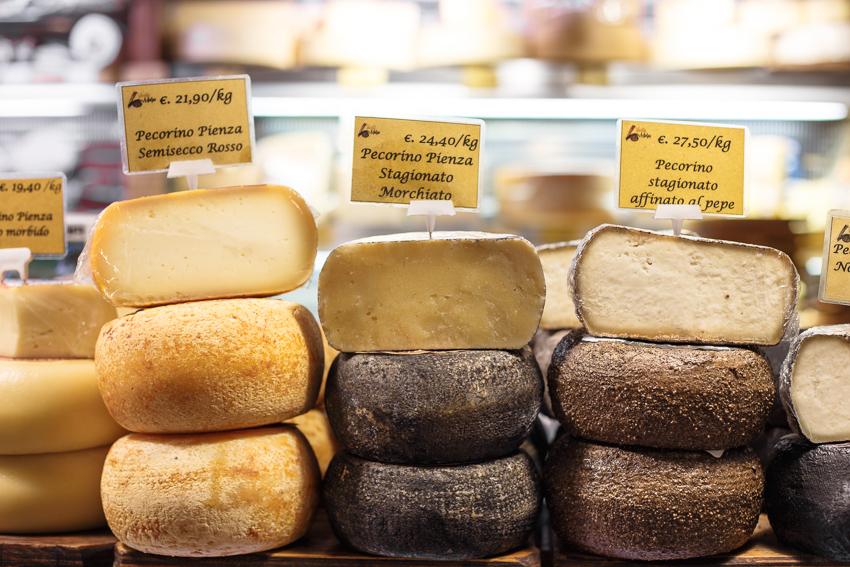 Bologna_Italy_pecorino cheeses
